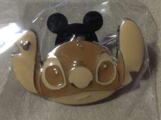香港 迪士尼 徽章 Disney Game Pin 麵包系列 史迪