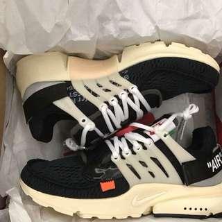 Nike Off White Presto US8 EUR41