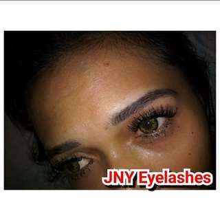 Eyelashes extantion