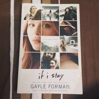 If I stay (fiction storybook)