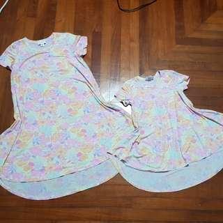 Lularoe scarlett mother & baby dresses