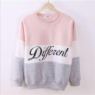 3 tone pullover