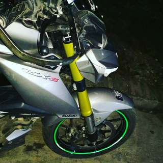 Cover Shock USD new Suzuki GSX/s