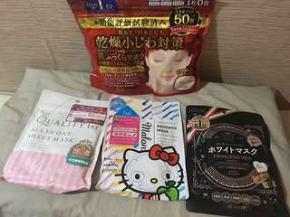 Japan face mask  kose quality 1st tbc malon