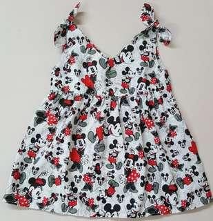 🐁 mickey & minnie ribbon dress