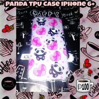 Panda Hearts TPU Case iPhone 6+ 6s+ 6 Plus
