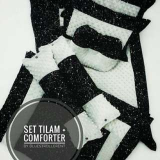 Set Tilam Kekabu & Comforter