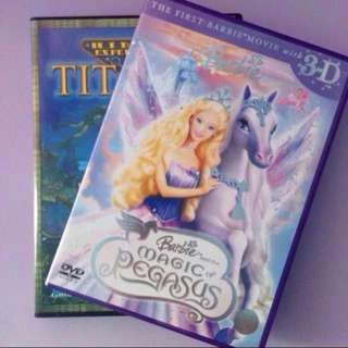 Barbie & The Magic of Pegasus DVD