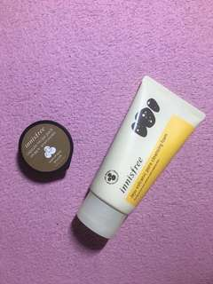 Innisfree Jeju Volcanic Pore Cleansing Foam capsule recipe pac wash off