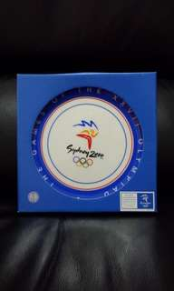 Brand New Authentic Sydney 2000 Official Millennium Collection Commemorative Plate