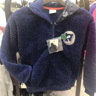 GIORDANO 刷毛上衣 130公分