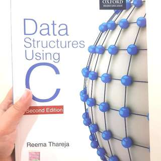 Oxford - Data Structures Using C 2nd Edition By Reema Thareja