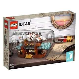 LEGO 21313 - IDEAS - Ship in a Bottle (NEW)