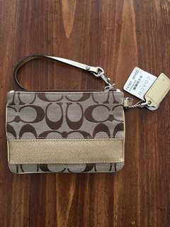 Authentic Coach Wristlet New with Tag