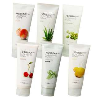 ✨AUTHENTIC✨ THE FACE SHOP Herb Day 365 Cleansing Foam 170ml *LIMITED STOCK* ~BEAU~