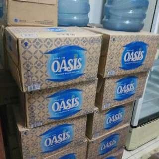 Oasis botol sedang 600ml( 1 dus isi 24 botol)