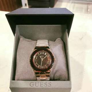 Authentic brand new GUESS gold watch (free sf)