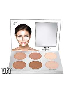 IT COSMETICS You Sculpted! Contouring Palette for Face and Body