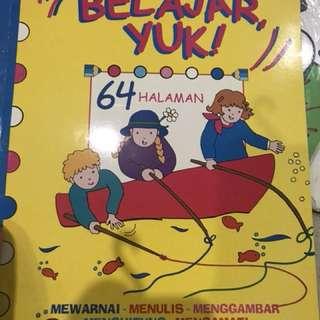 Buku musik anak murah