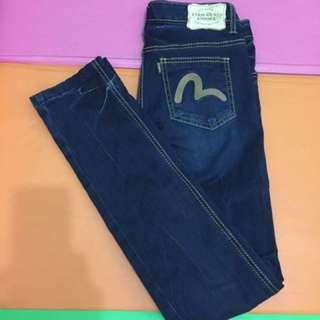 Evisu Vintage Jeans/底腰牛仔褲