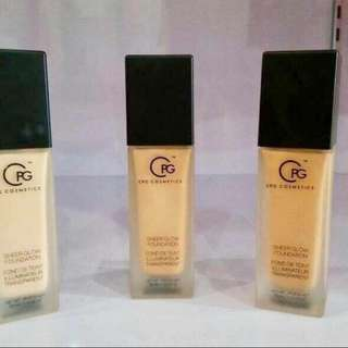 CPG Cosmetics Liquid Sheer Glow Foundation