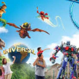 Dated 05 & 06 March2018 Universal Studios Singapore Ticket.