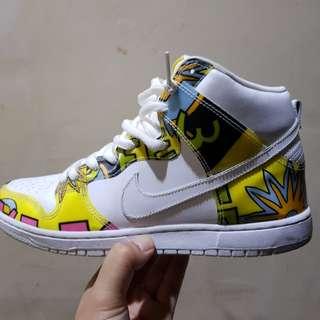 Nike Dunk Hi PRM QS SB De La Soul