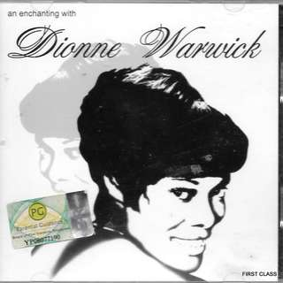 MY PRELOVED CD -DIONNE WARWICK - ENCHANTING WITH - 2CDS ALBUM  /FREE DELIVERY (F3U)
