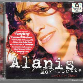 MY PRELOVED CD -ALANIS MORISSTTE - /FREE DELIVERY (F3X)