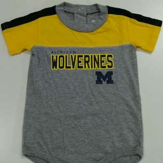 NFL Michigan Wolverines Onesie
