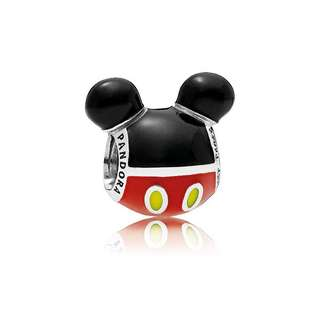 PANDORA Disney Mickey Mouse Playful Icon Charm