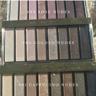 Masterpiece Nude Palette