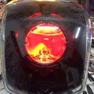 Cuxi115 2.5吋 led hid 遠近魚眼 現場改好5000