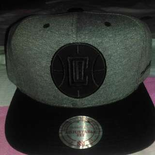 L.A Clippers Mitchell & Ness Snapback