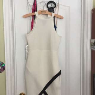 White Party Cocktail Dress