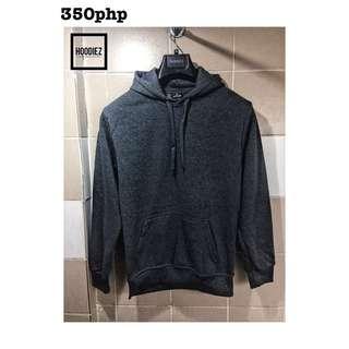 JS10 Plain cotton Dark Gray hoodie jacket size medium