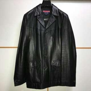 Chevignon leather jacket