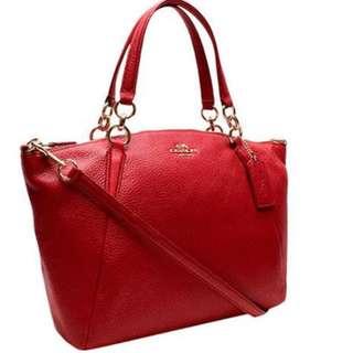 Coach Pebble Leather Bag