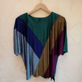Batwing Sparkling Blouse