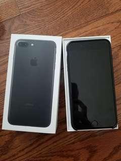 LNIB 10/10 iPhone 7 Plus Bell