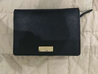Kate Spade Cara Newbury Lane leather medium wallet
