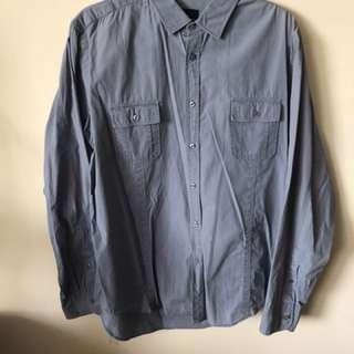 Zara man dress shirt: size XL