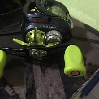 Fishing Reel daiwa zillion tws jdm 9.1 baitcaster