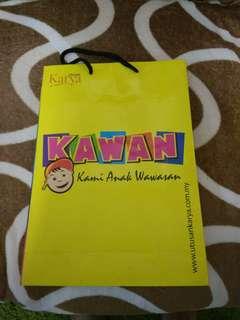 Paper bag majalah kawa
