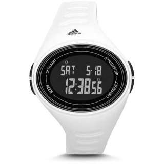 ADIDAS Performance Adizero Basic DIGITAL White OVAL Unisex Watch