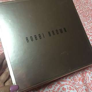 Bobbi Brown gold make-up gift box