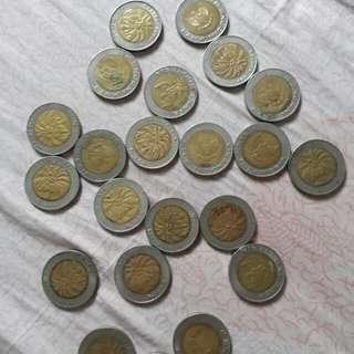 Uang Recehan Lama 1000