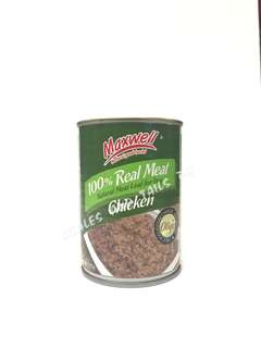 Maxwell Canned Dog Food - Chicken Flavor - 375g