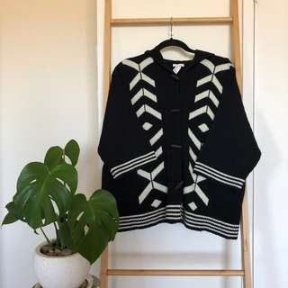 FOREVER 21 - Poncho Style Hooded Cardigan ♡ misskimjavier