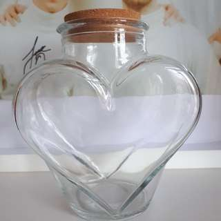 Medium Heart Jar